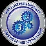 3 Year Parts Warranty logo