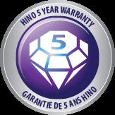 Hino 5 Year Warranty logo