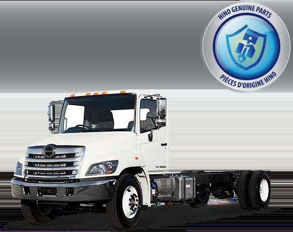 Light & Medium Duty Truck Parts | Hino Motors Canada