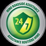 Hino 24/7 Roadside Assistance logo