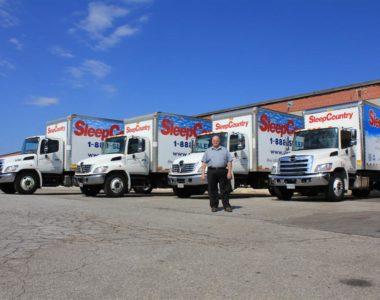 sleep country canada trucks
