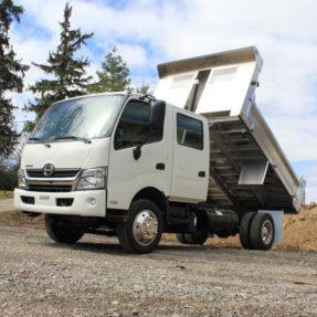 hino dump truck
