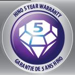 Hino 5 year warranty