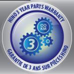 Hino 3 year parts warranty