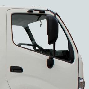 side view of cab door