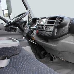 truck interior