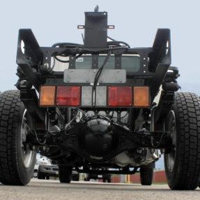 back underside of a truck