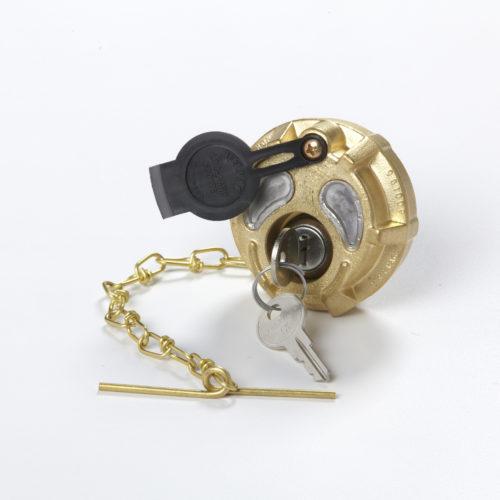 locking fuel cap