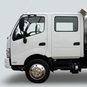 side view truck door