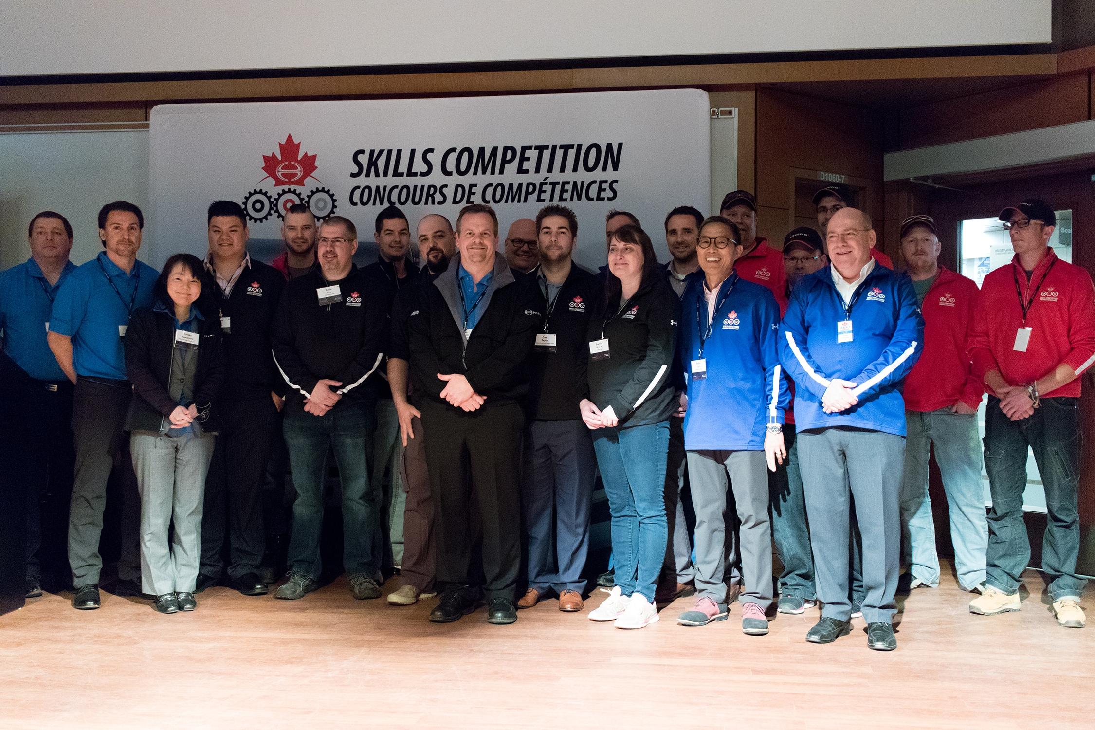 Hino Dealer skills competitors