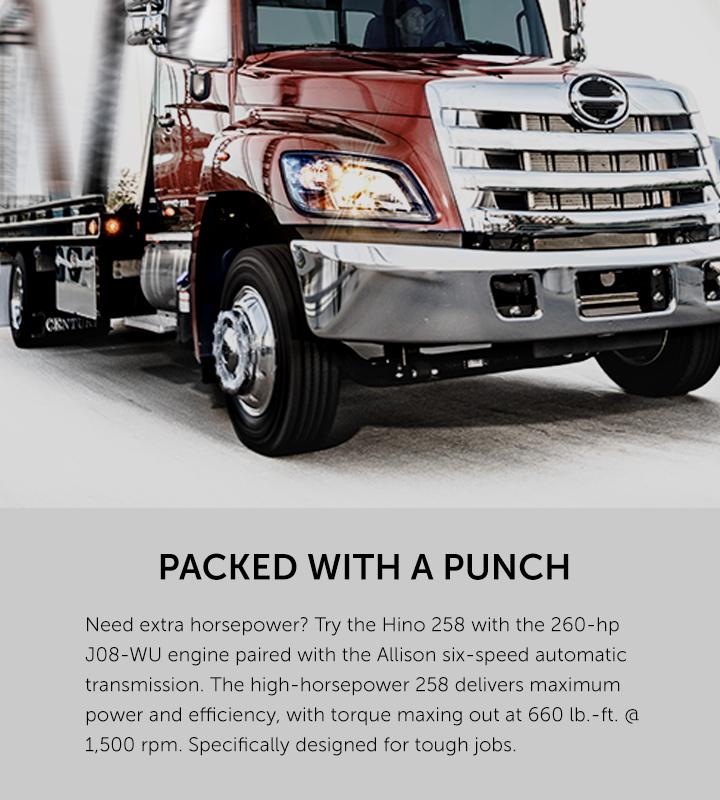 2020 Hino 258 Medium Duty Trucks | Hino Motors Canada